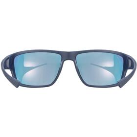 UVEX Sportstyle 230 Glasses blue matt/mirror red
